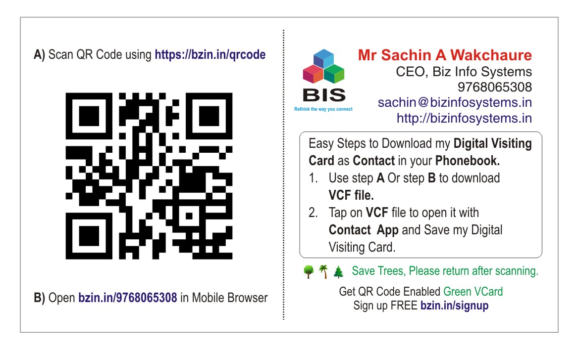 Custom Interactive Business Card