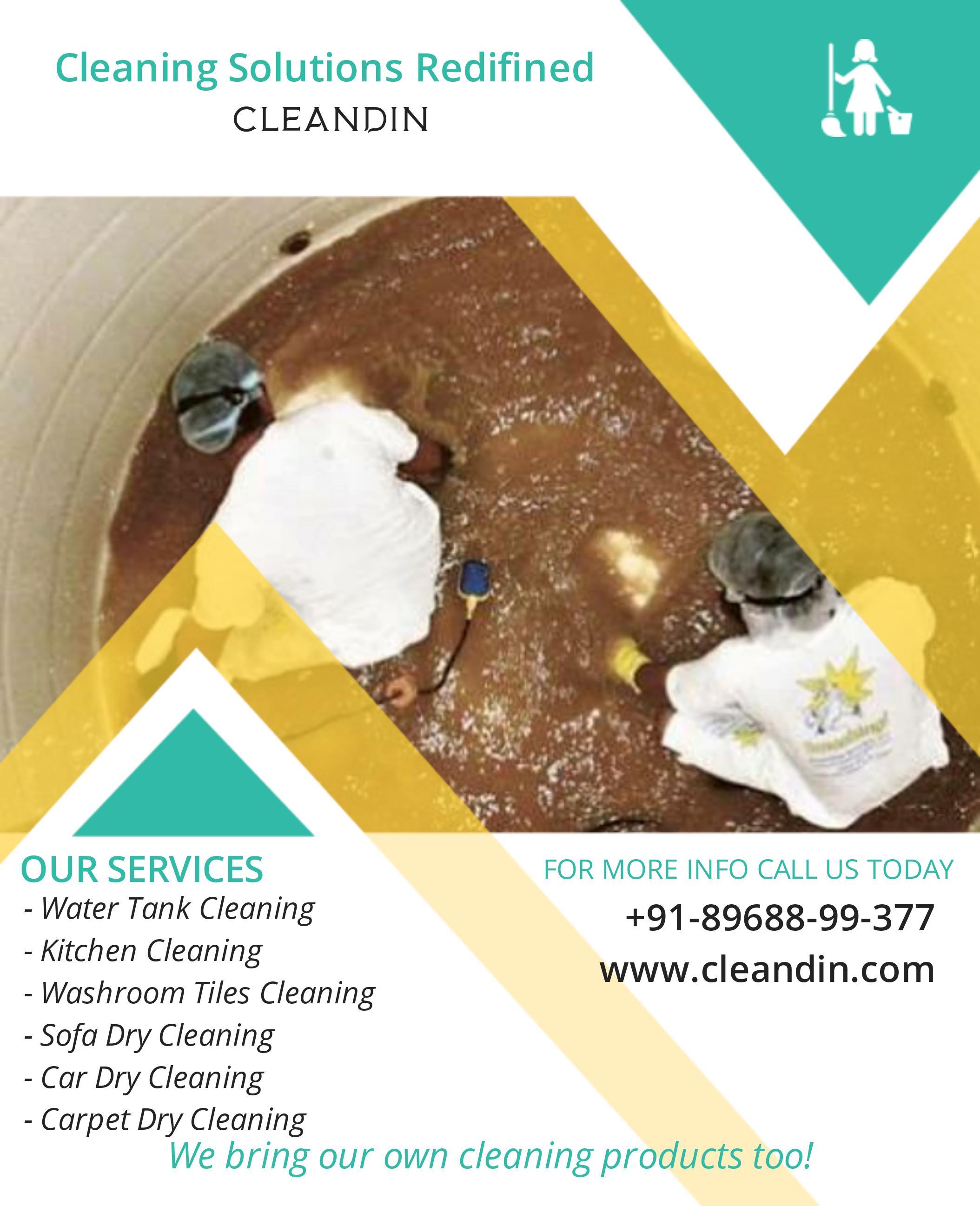 CleanDin Water Tank Cleaning Services