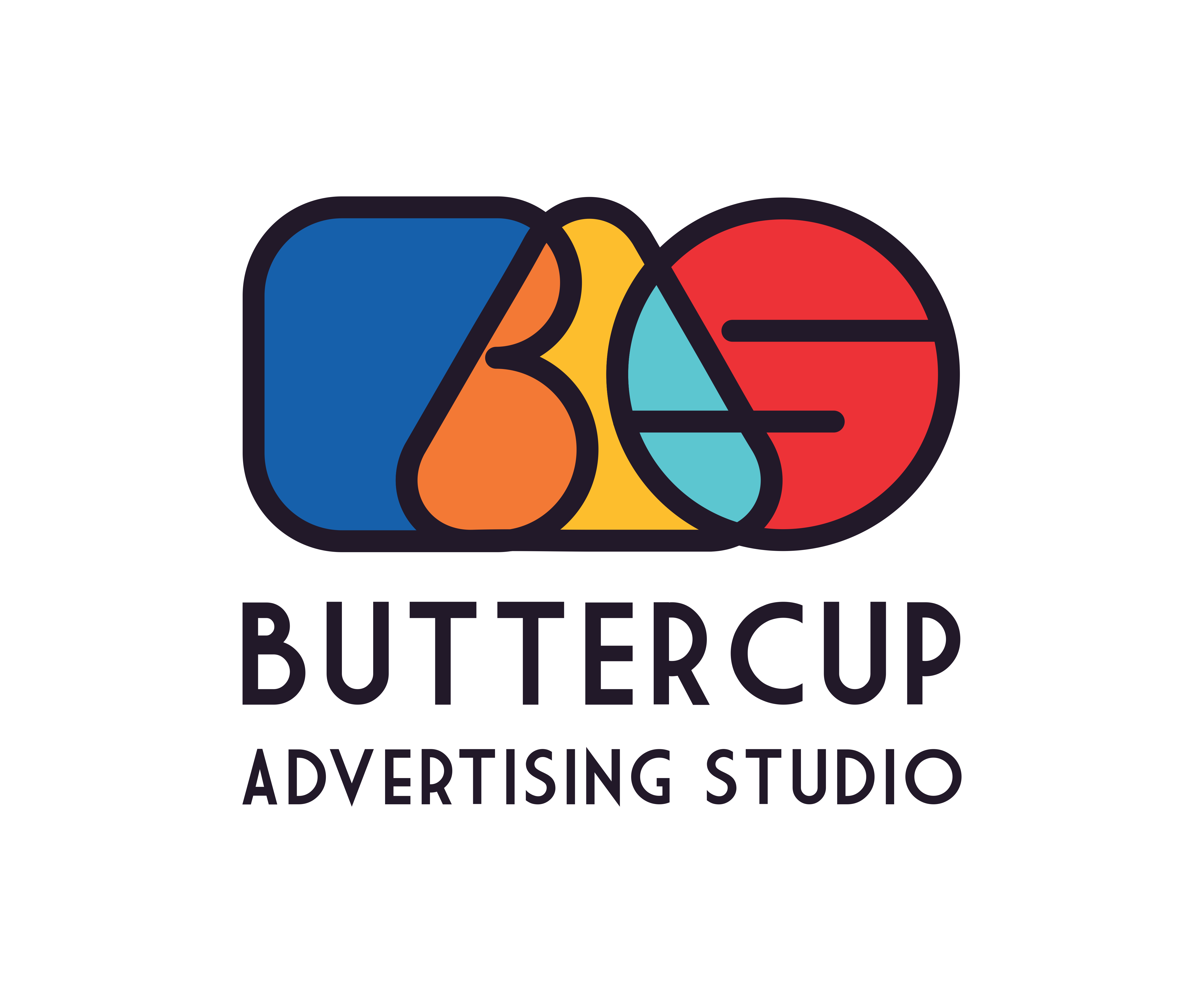 Buttercup advertising studio - graphic designing