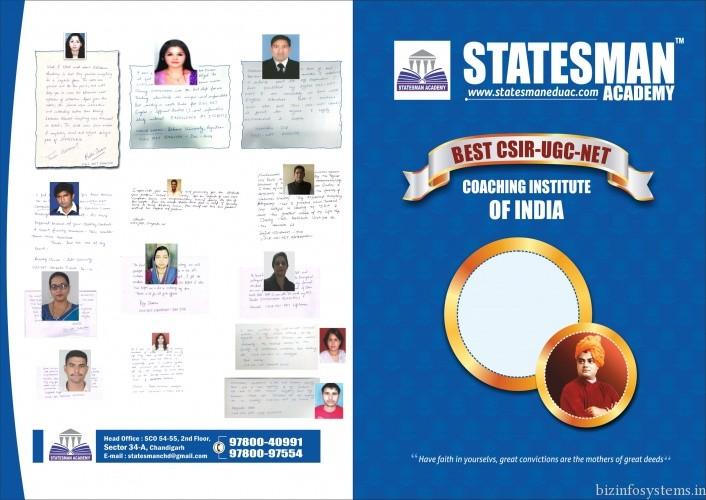 Statesman Academy - UGC NET Coaching in Chandigarh / Image 1
